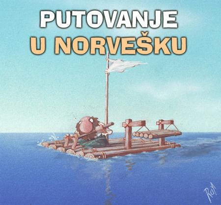 Pripreme za izložbu hrvatske karikature u norveškoj dröbak 10 09